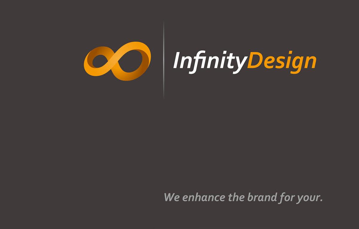 قالب هویت بصری سازمانی Infinity