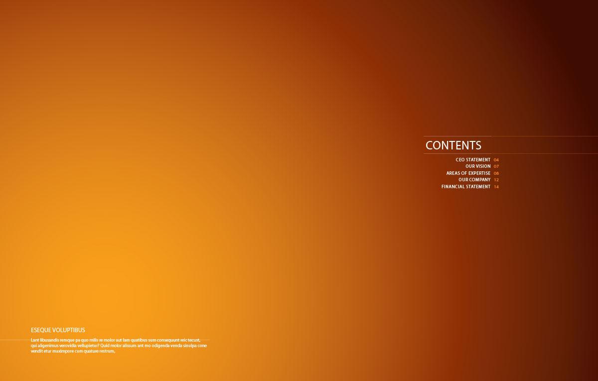 قالب آماده کاتالوگ   قالب رایگان کاتالوگ