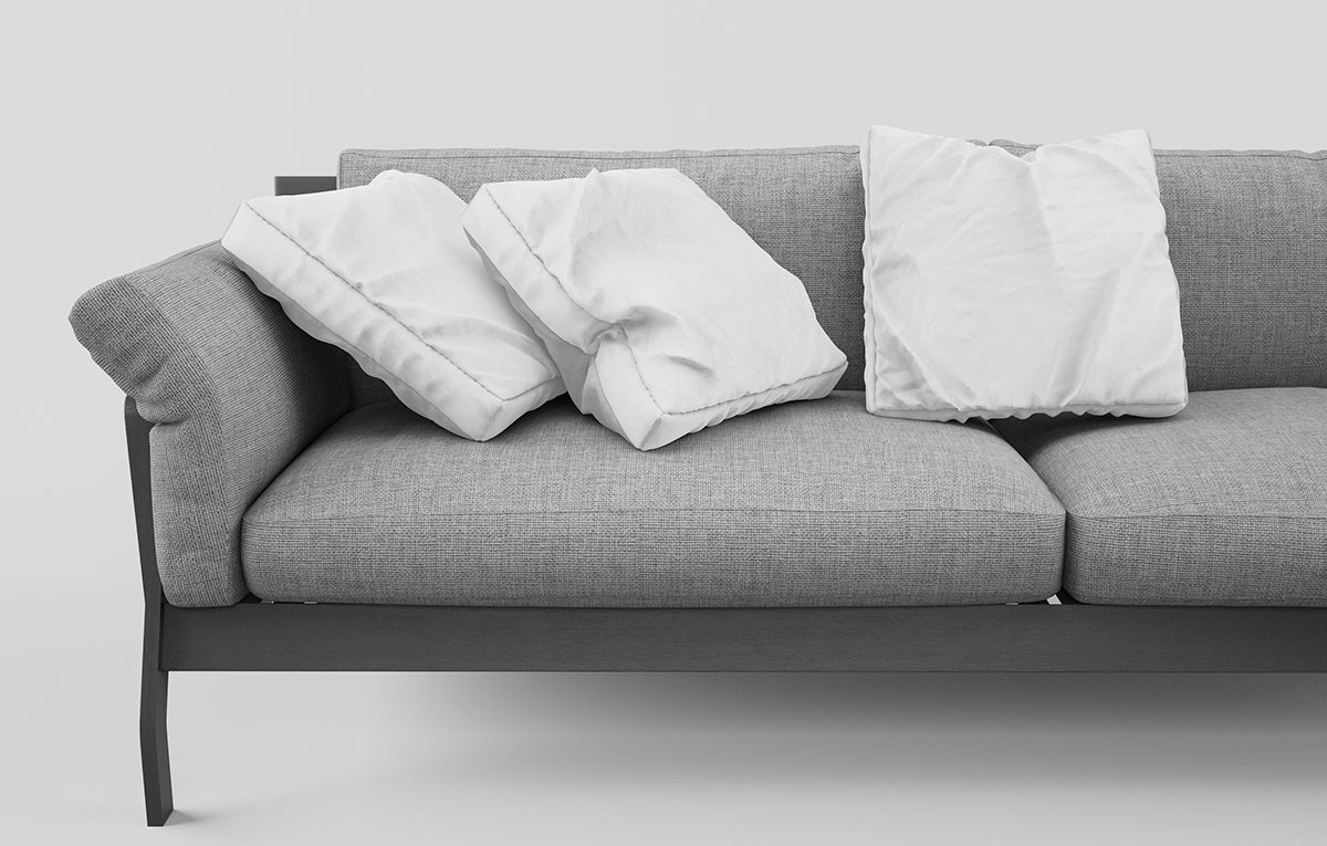 ماکاپ مبلمان خانگی couch