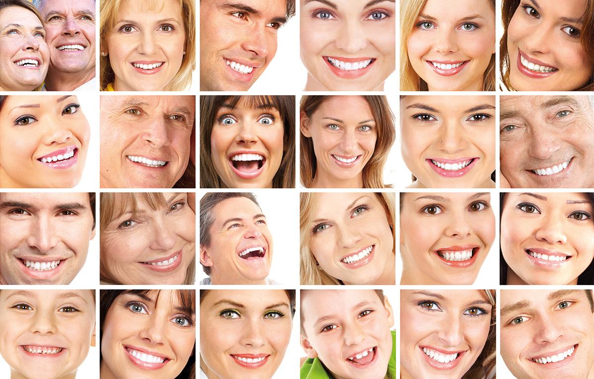 تصاویر آرشیوی چهره و لبخند