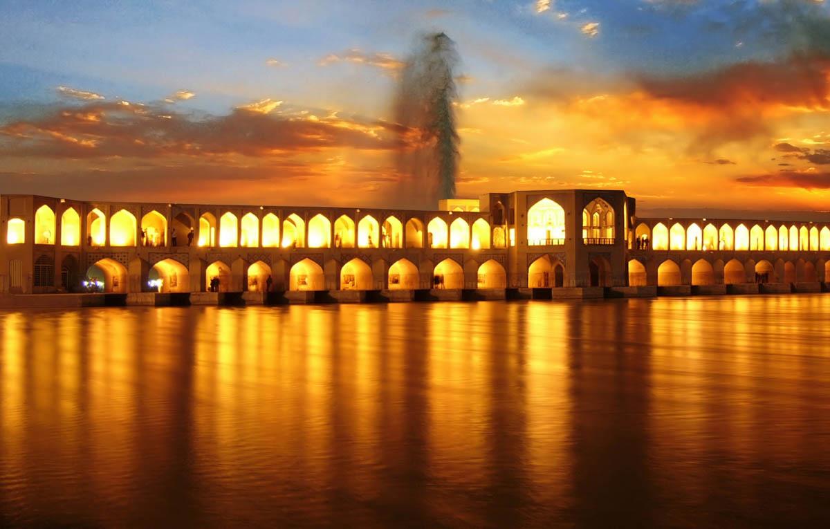 تصاویر آرشیوی بناهای تاریخی اصفهان - رایگان