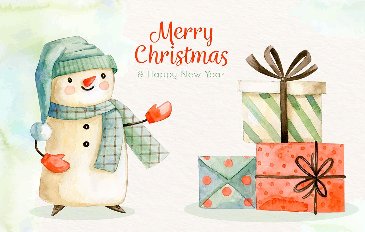 قالب آماده تبریک عید کریسمس Christmas