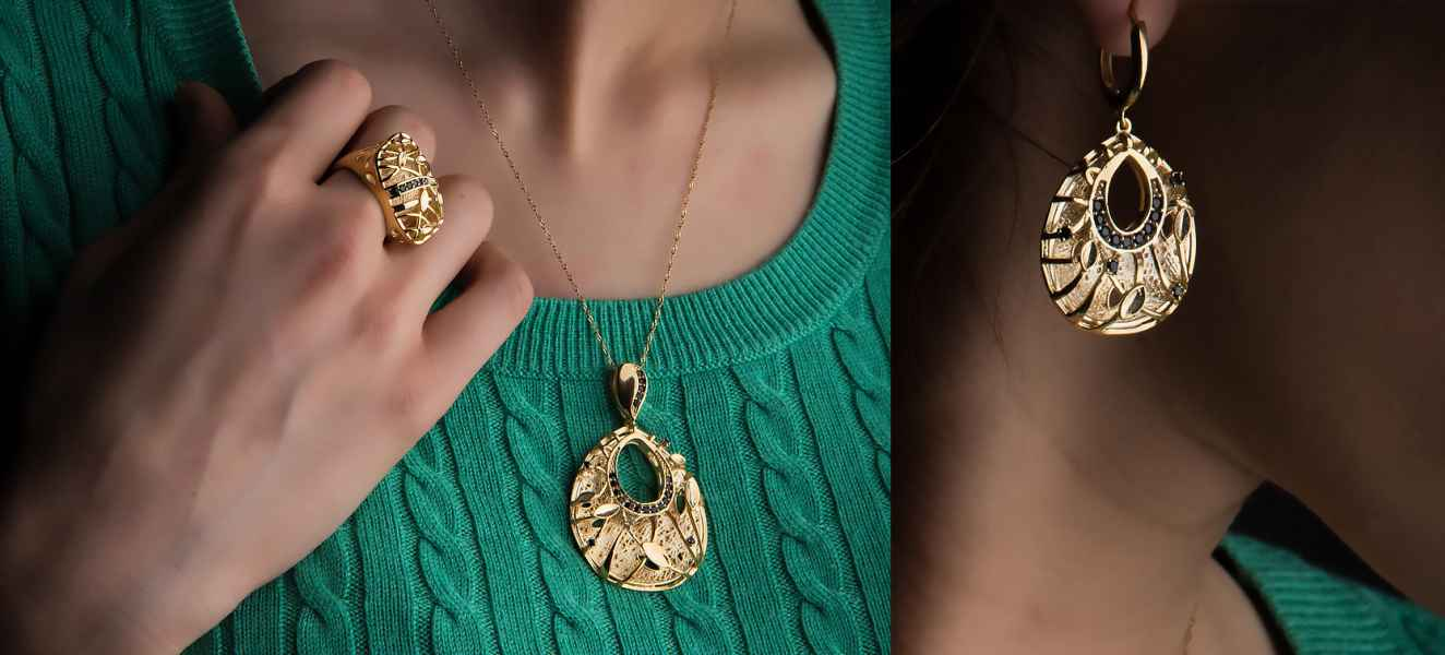 Precious Stones |  Gold | Jewelry Photography
